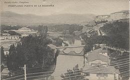 X114966 NAVARRA PAMPLONA PUENTE DE LA ROCHAPEA - Navarra (Pamplona)