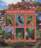 St. Vincent 2019 Fauna Hummingbirds Of The Caribbean  I201901 - St.Vincent & Grenadines