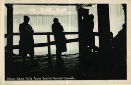 CANADA - HORSE SHOE FALLS FROM SCENIC TUNNEL - Canada
