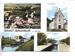 21 - SAINT-SAUVEUR ( Côte-D' Or ) 4 Vues - France