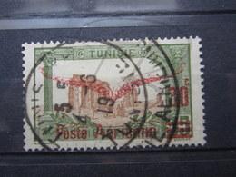 """VEND BEAU TIMBRE DE POSTE AERIENNE DE TUNISIE N° 1 , OBLITERATION """" TUNIS """" !!! - Airmail"""