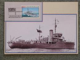 HMAS BATHURST - AUSTRALIAN WARSHIP - Warships