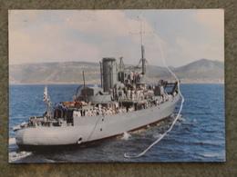 SAS SOMERSET - SOUTH AFRICA NAVY CARD - Warships