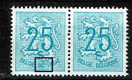 1368  **  Paire   BEIGIQUE - Abarten Und Kuriositäten