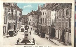 88 Neufchateau  Statue Et Place Jeanne D ' Arc - Neufchateau