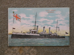 HMS SPEEDY - GUNBOAT - Warships