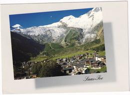 Saas Fee 1800 M, Wallis - Allininhorn 4027 M, Alphubel 4206 M - (VS) - VS Valais