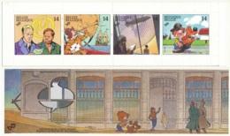 D - [153168]B22, Philatélie De La Jeunesse, Bédé, Bandes Dessinées Diverses, Le Carnet Replié Pour Envoi, SNC - Carnets 1953-....