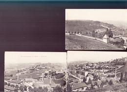 Carte Panoramique / Thizy / Vue Panoramique Et Environs / Photo Miguet Thizy / Coupée En 3 Parties - Thizy