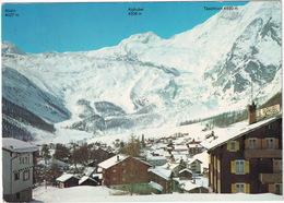 Saas-Fee 1800 M. ü. M. - Pisten Felskinn Und Längflüh  - (VS) - Hotel Alphubel - VS Valais