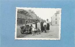 VOITURE à Identifier, Années 30 ( Photo Format 8,5cm X 6,1cm). - Automobili