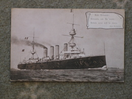 HMS POWERFUL - PATRIOTIC TUCK RAPHOLETTE - Warships