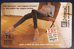 Prépayée Intercall SNCF Paris Lyon .. 2.000 Exemplaires 30.04.98 - 1998