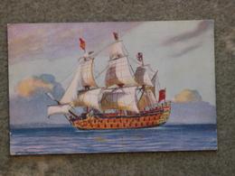 BATTLESHIP ROYAL GEORGE ART CARD - Warships