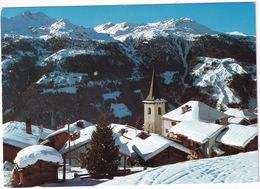 Au Val D'Anniviers, Valais, Le Village De Saint-Luc Sous La Neige - (VS) - VS Valais