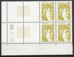 N° 1971 - X X - Daté 26/05/78 - ( Daté à Gauche ) - 1970-1979