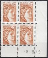 N° 2060 - X X - Daté 08/08/79 - Ecken (Datum)