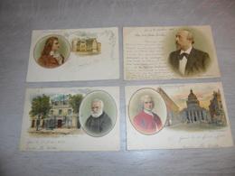 Beau Lot De 60 Cartes Postales De Personnes Personne Célèbre   Mooi Lot Van 60 Postkaarten Van Personen Beroemde Persoon - Cartes Postales