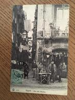 CPA, Napoli, Vico Alla Marina, écrite En 1909, Timbre - Napoli