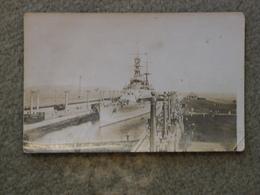 BATTLESHIP IN GATON DOCKS, PANAMA RP - Warships
