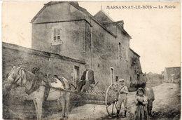 MARSANNAY LE BOIS - La Mairie  - Attelage Agricole    (113534) - France