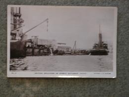 SCAPA FLOW SCUTTLING OF GERMAN FLEET - BURROWS NO 13, BADEN BATTLESHIP RP - Warships