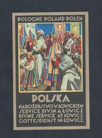 POLOGNE POLSKA VISITEZ LOWICZ & C EST ENVIRONS NON ECRITE : - Pologne