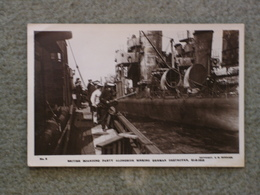 SCAPA FLOW SCUTTLING OF GERMAN FLEET - BURROWS NO 8 BOARDING PARTY ALONGSIDE RP - Warships