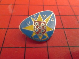 1015B Pins Pin's  / Rare & Belle Qualité / THEME : SPORTS / CLUB SPORTIF USMA - Pin