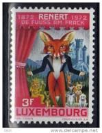 D - [TC080-04]LUXEMBOURG YV  N° 802 @XX-MNH@ Epopee Satyrique RENERT Par Michel Rodange, Art, Renard - Autres
