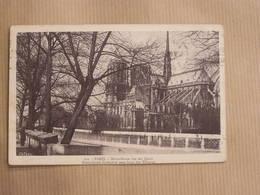 PARIS Cathédrale Notre-Dame De Paris Vue Des Quais CPA Carte Postale France - Notre Dame De Paris