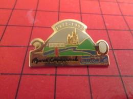 1318a Pins Pin's  / Rare & Belle Qualité / THEME : FRANCE TELECOM / AGENCE COMMERCIALE DE ROUEN 1972 1992 - France Telecom