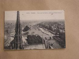 PARIS Cathédrale Notre-Dame De Paris Vue De La Seine Prise De Notre-Dame CPA Carte Postale France - Notre Dame De Paris