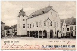 Environs Tongres Tongeren Hôtel De Ville De Looz Nels BRuxelles Serie 42 Nr 10 Collection Touring Club Belgique - Hasselt