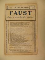Salut ô Mon Dernier Matin(Les Échos Du Théâtre)-(musique C. Gounod) (paroles J. Barbier. M. Carré) (Partition) - Musique & Instruments