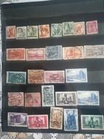 Lot De 50 Timbres De La Sarre - Stamps
