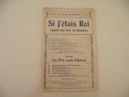 Si J'étais Roi (Les Échos Du Théâtre)-(musique Adam) (paroles D'Ennery Et Brésil) (Partition) - Musique & Instruments