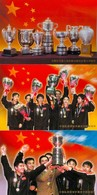 19/5 Tennis De Table La Chine Remporte Les 7 Titres Aux Championnats Du Monde 5 Scans 10 Cartes Dépliant Carnet Booklet - Tischtennis
