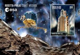 Union Island   , Grenadines  Of St. Vincent 2019  Rosetta Spacecraft, Comet  I201901 - St.Vincent & Grenadines