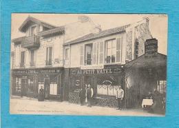 Café-Restaurant Du Petit-Vatel, Maison F. Thoumazou ( Pub Au Dos ). - Confiseur-Chocolatier J. Cavalli. - France