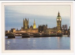 Carte , ANGLETERRE , LONDRES , Le Pont De Westminster, Le Parlement Et Big Ben - Cartes