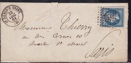 France, Seine -pc 3041 De St Denis/Seine De 1861 - Storia Postale