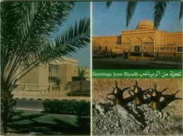 SAUDI ARABIA - GREETINGS FROM RIYADH - VINTAGE POSTCARD 1960s (BG3202) - Saudi Arabia
