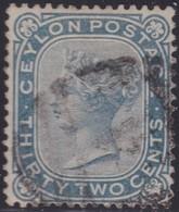 Ceylon    .   SG  .     128      .   O     .   Cancelled        .   /    .  Gebruikt - Ceylon (...-1947)