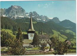 Rougemont (Alpes Vaudoises) - L'église Et Le Rübli (Videmanette)  - (VD) - VD Vaud