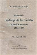 Généalogie Boulangé De La Hainière, De Mons - Biographie