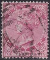 Ceylon    .   SG  .     130        .   O     .   Cancelled        .   /    .  Gebruikt - Ceylon (...-1947)