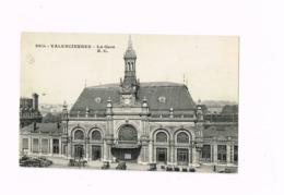 La Gare.OLdtimer.Autos.Expédié De Condé-sur-Escaut à Epinay-sur-Seine. - Valenciennes