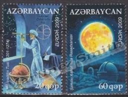 Azerbaidjan - Azerbaijan - Azerbaycan 2009 Yvert 650-51, Europa Cept, Astronomy, Space - MNH - Azerbaïjan