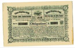Suisse 1917: Emprunt D'Obligation De La Féderation Suisse Des Chefs D'Équipe - Banque & Assurance